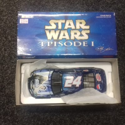Jeff Gordon 24 Pepsi Racing Star Wars Episode 1