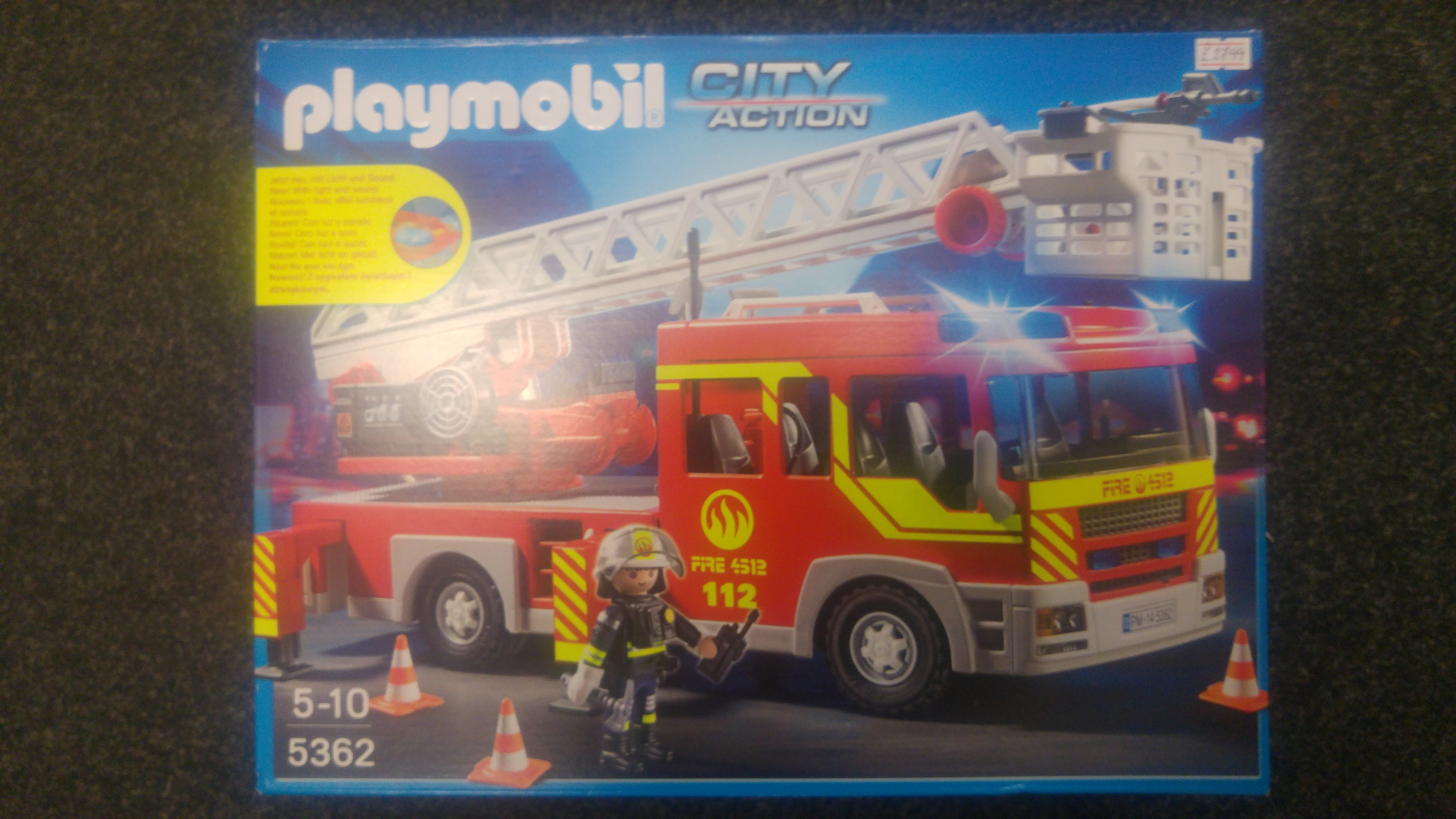 5362 Playmobil City Action Fire Engine