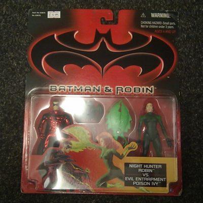 Batman And Robin Night Hunter Robin vs Evil Entrapment Poison Ivy