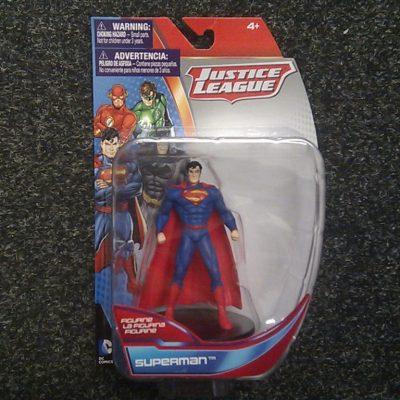 DC Comics Justice League Superman Figurine, 4″ Collectible Figure