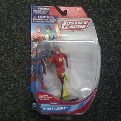 DC Comics Justice League The Flash Figurine, 4″ Collectible Figure